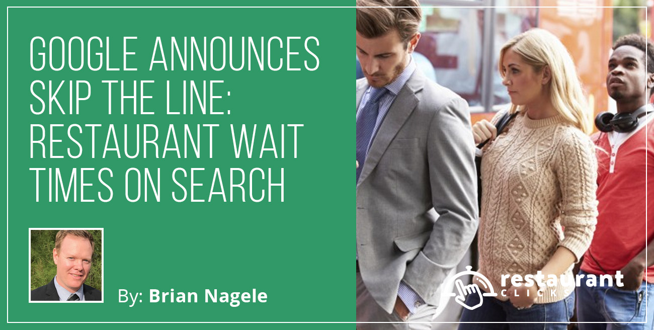 google waiting in line