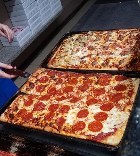 la rosa pizza