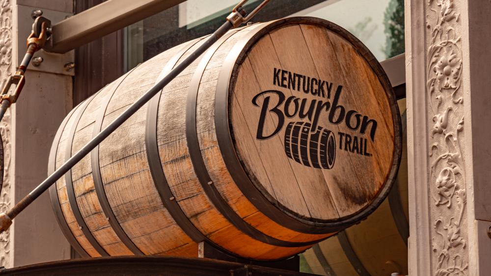 Bourbon Barrels in Louisville Kentucky