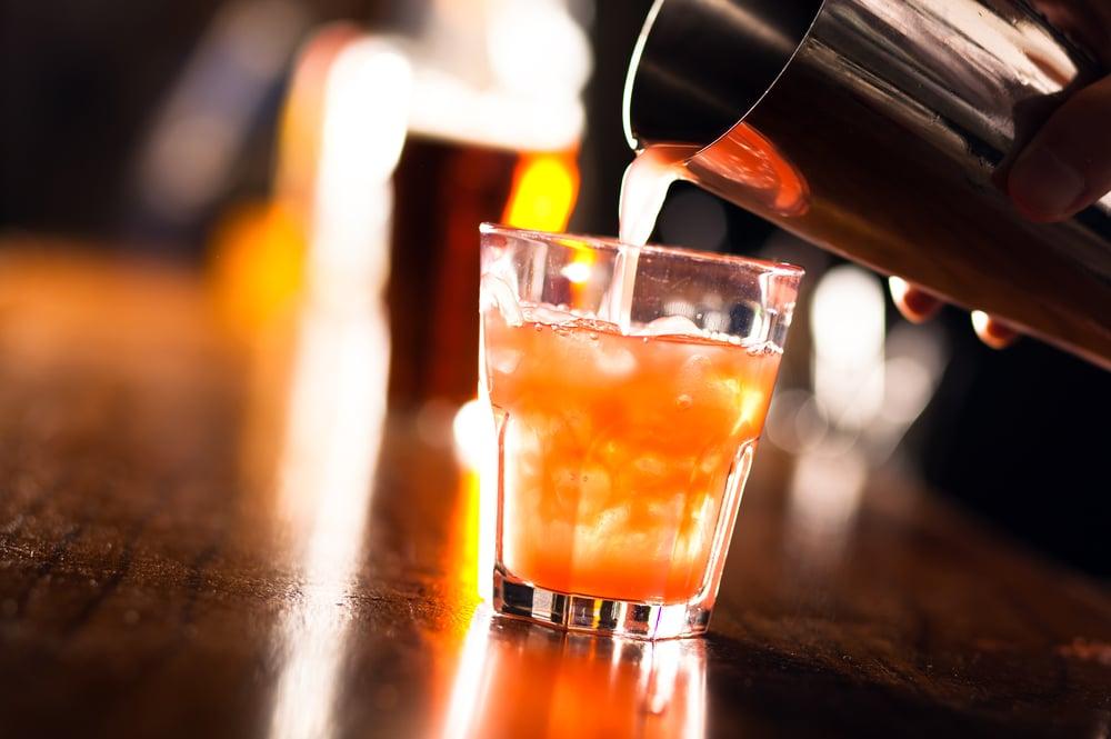 cheap mixed drink